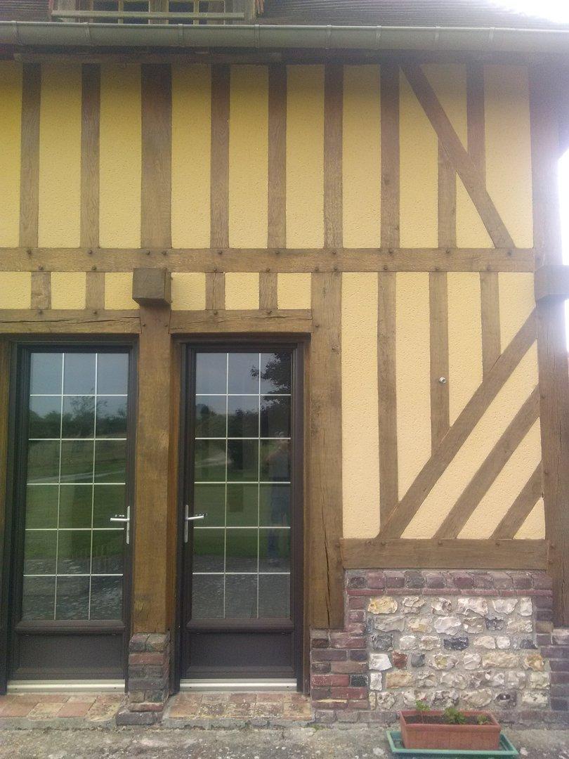 enduit facade ton pierre elegant profil exterieur angle en acier perfore enduit de mm avec jonc. Black Bedroom Furniture Sets. Home Design Ideas